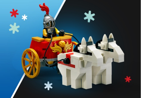 LEGO Roman Chariot VIP GWP