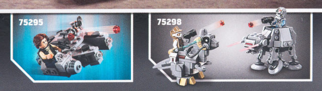 LEGO Star Wars 2021 microfighters