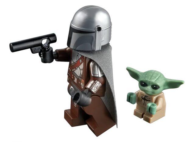 LEGO Star Wars 75299 The Mandalorian Beskar armor