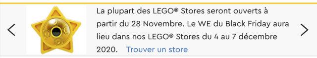 LEGO Stores confinement