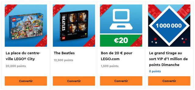LEGO VIP Cyber Monday 2020