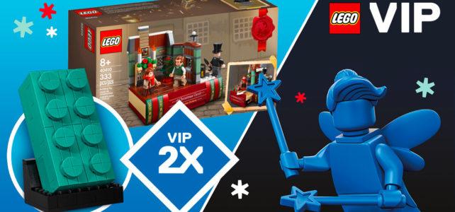 LEGO VIP week-end 2020