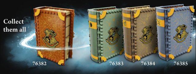 Livres LEGO Harry Potter 2021