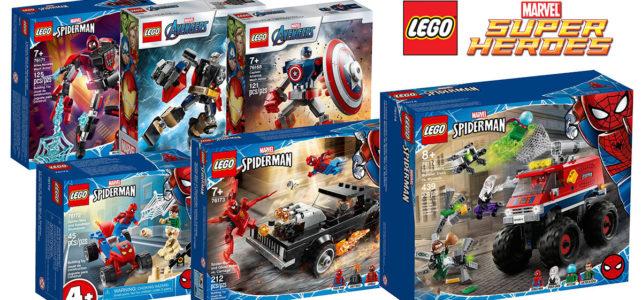 Nouveautés LEGO Marvel 2021