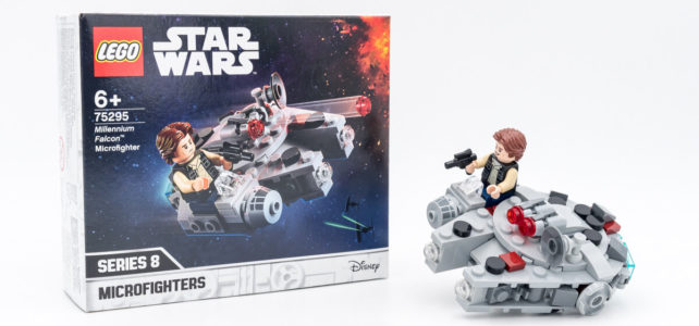 REVIEW LEGO Star Wars 75295 Millennium Falcon Microfighter