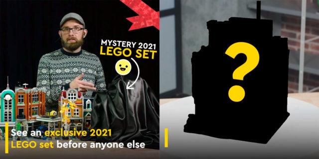Teasing LEGO Modular 2021