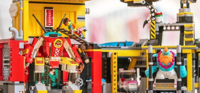 REVIEW LEGO 80013 Monkie Kid's Team Secret HQ