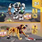 Catalogue LEGO 2021 Creator