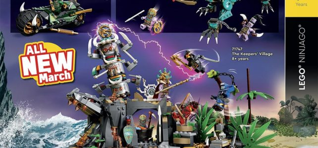 Catalogue LEGO 2021 Ninjago