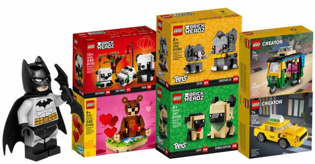 LEGO 2021 BrickHeadz Creator Seasonal Batman
