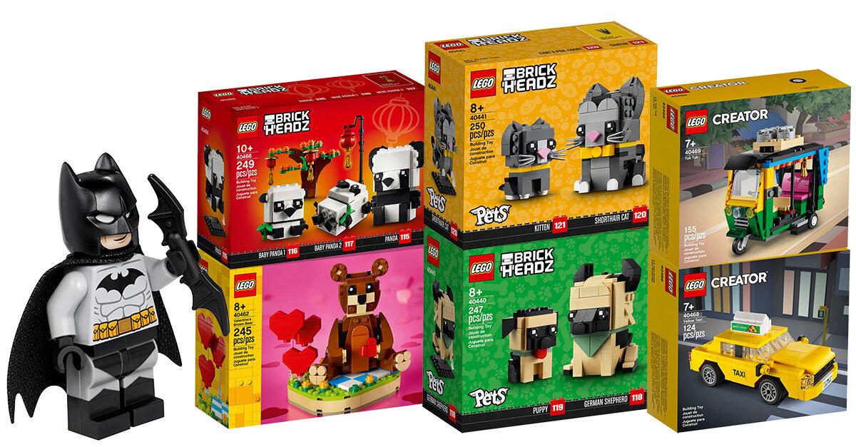 Nouveautés LEGO 2021 : quelques sets Seasonal, Creator ...
