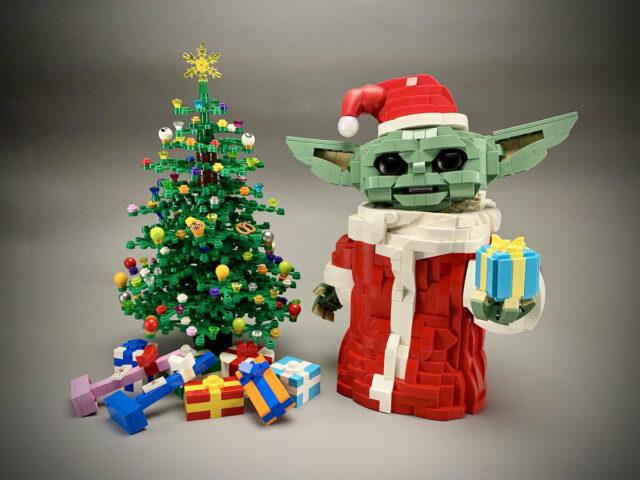 LEGO Baby Yoda Christmas Grogu