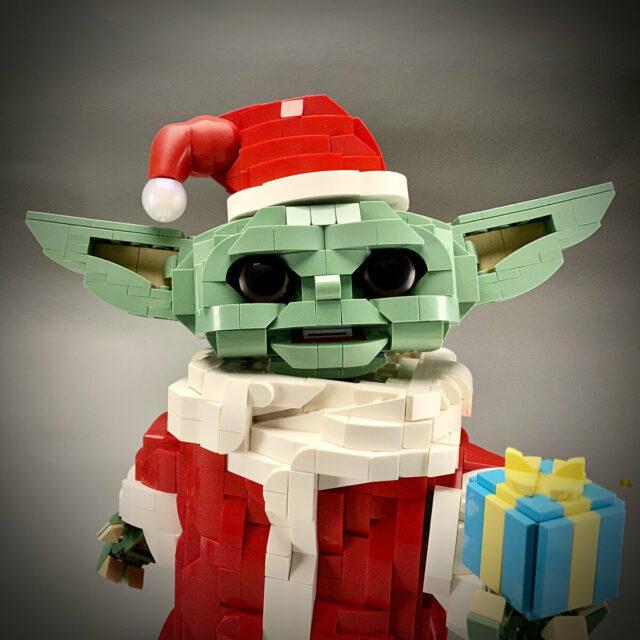 LEGO Baby Yoda Christmas Grogu Noel