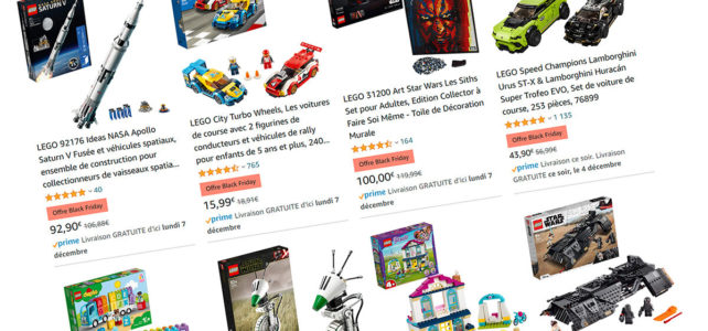 LEGO Black Friday Amazon 2020