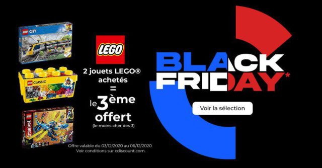 LEGO Black Friday cdiscount