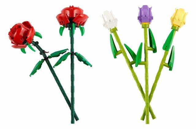 LEGO Flowers 40460 40461