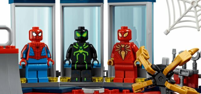 LEGO Marvel Spider-Man 76175 Spider Lair
