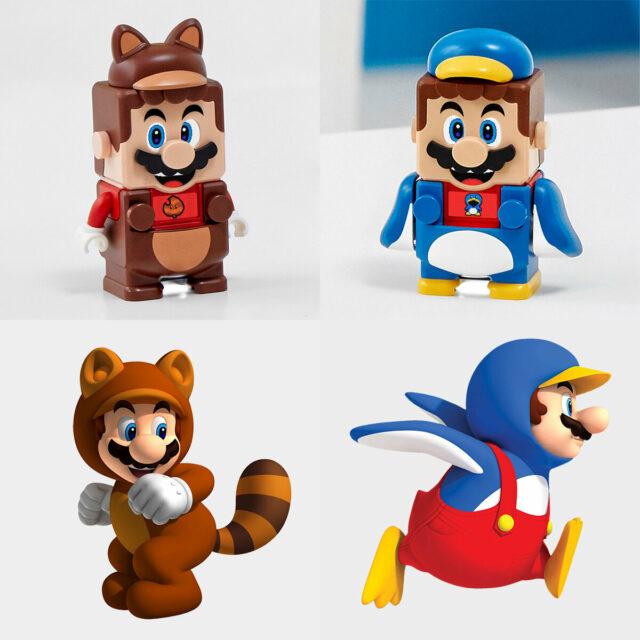 LEGO Super Mario 2021 suits