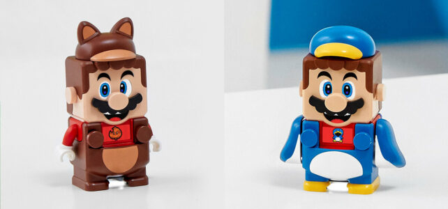 LEGO Super Mario suits