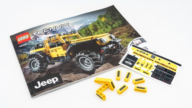 REVIEW LEGO Technic 42122 Jeep Wrangler
