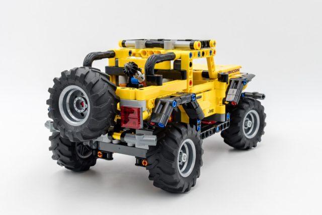 REVIEW LEGO Technic 42122 Jeep Wrangler