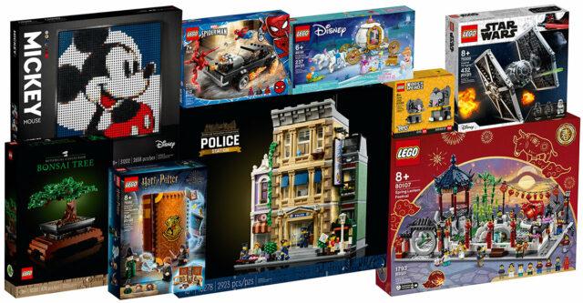 Nouveautes LEGO 2021 recap