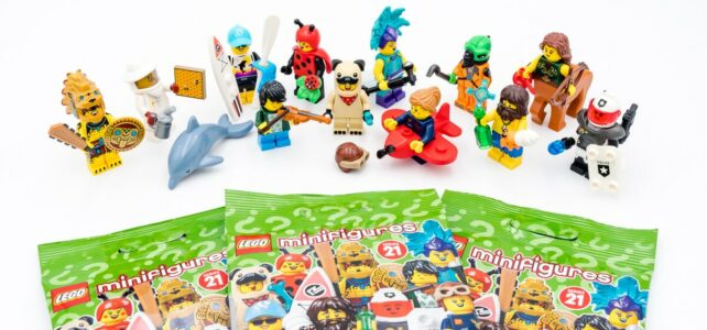 REVIEW LEGO 71029 Collectible Minifigures series 21