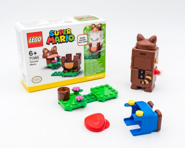 REVIEW LEGO 71385 Tanooki Mario Power-Up Pack