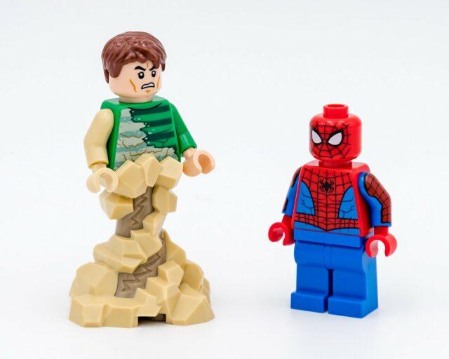 REVIEW LEGO 76172 Spider-Man and Sandman showdown