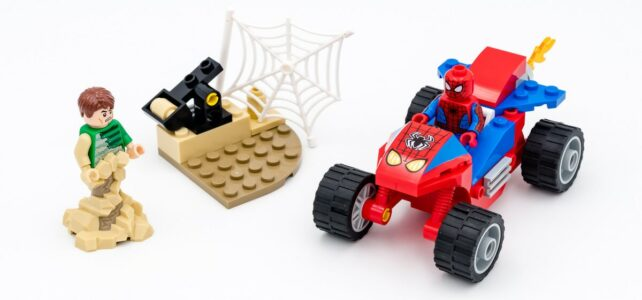 REVIEW LEGO 76172 Spider-Man and Sandman showdown