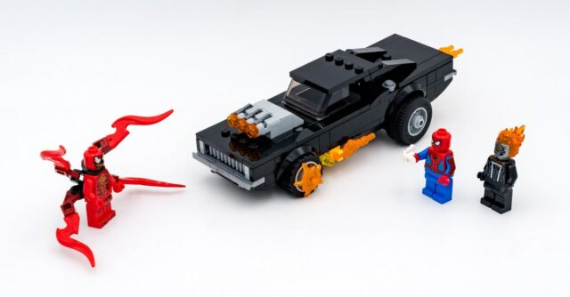 REVIEW LEGO 76173 Spider-Man & Ghost Rider vs Carnage