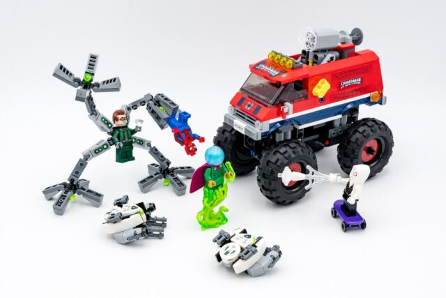 REVIEW LEGO 76174 Spider-Man's Monster Truck vs Mysterio
