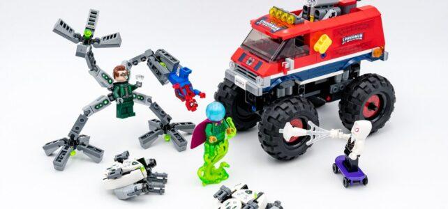 REVIEW LEGO 76174 Spider-Man's Monster Truck vs Mysterio