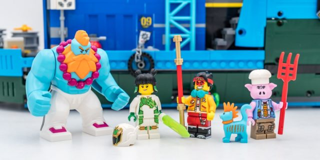 REVIEW LEGO 80013 Monkie Kid HQ