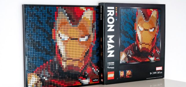 REVIEW LEGO Art 31199 Iron Man