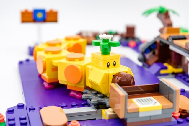REVIEW LEGO Mario 71383 Wiggler