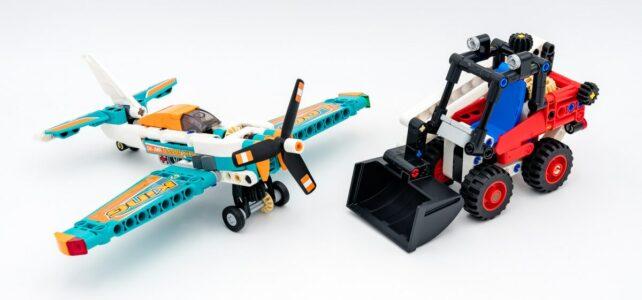 REVIEW LEGO Technic 42116 42117