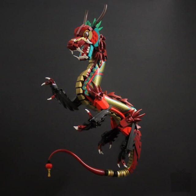 Royal Vay Dragon LEGO Monkie Kid