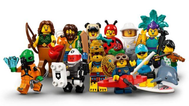 LEGO minifigs serie 21v Minifigure Maddness