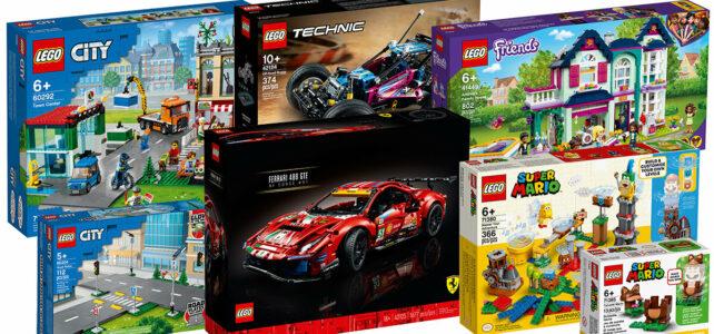 new LEGO 2021