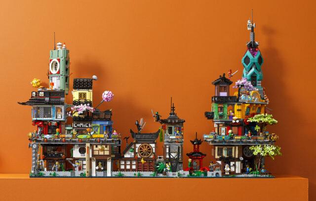 LEGO 71741 Ninjago City