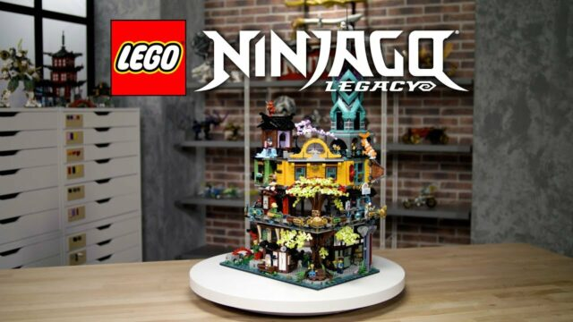 LEGO 71741 Ninjago City Gardens designer video