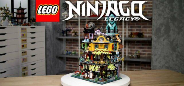 LEGO 71741 Ninjago City Gardens designer video