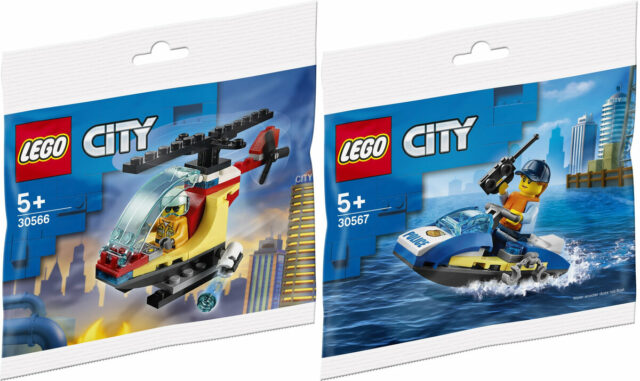 LEGO City polybags 2021 30566 30567