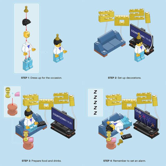 LEGO Happy New Year 2021