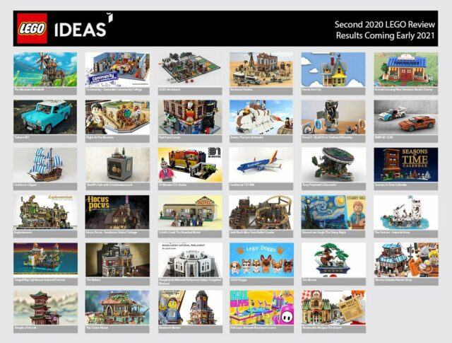 LEGO Ideas review 2020 phase 2