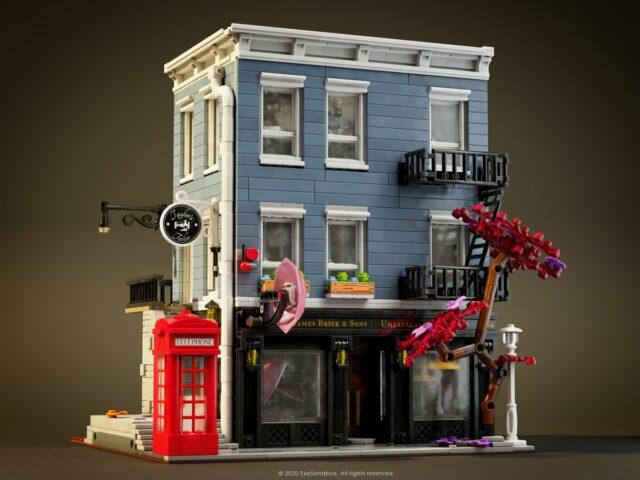 LEGO Modular Umbrella Store