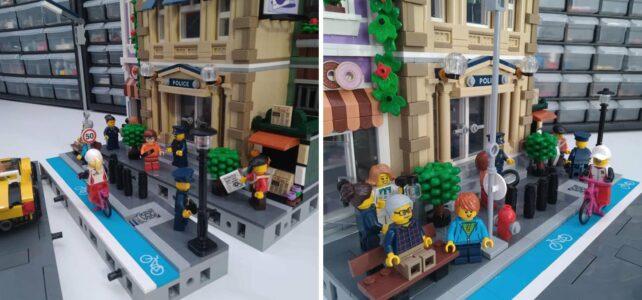 LEGO Modular road system