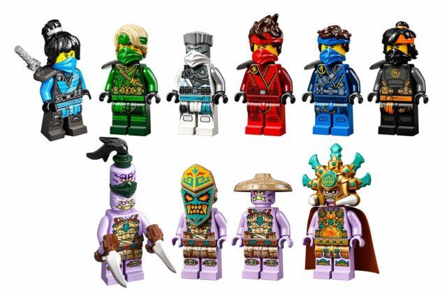 LEGO Ninjago 2021 minifigures