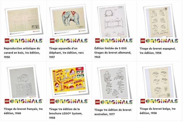 LEGO Originals artworks